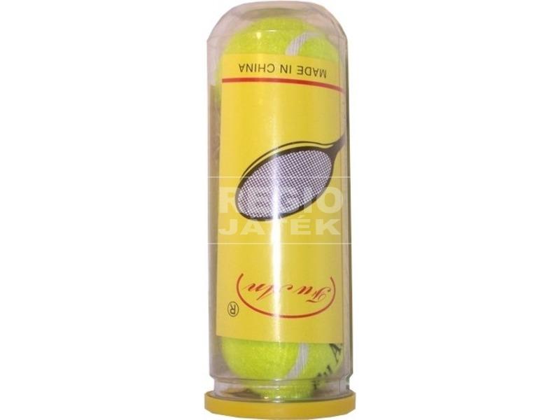 Teniszlabda hengerben 3 darabos készlet