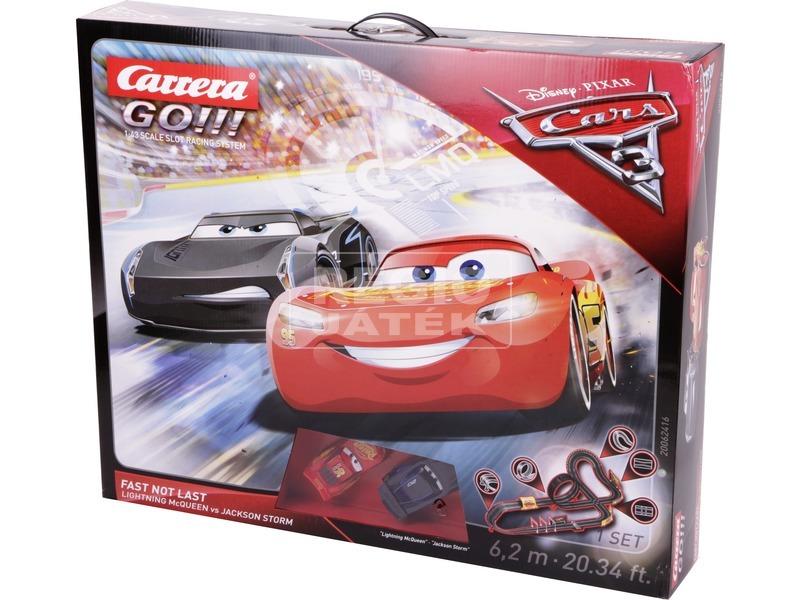 Carrera GO Disney /Pixar Cars3 autópálya
