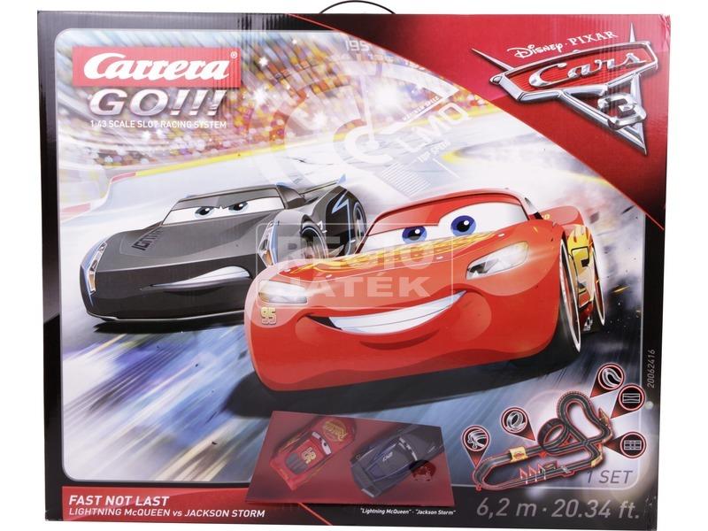 kép nagyítása Carrera GO Verdák 3 Fast not Last versenypálya