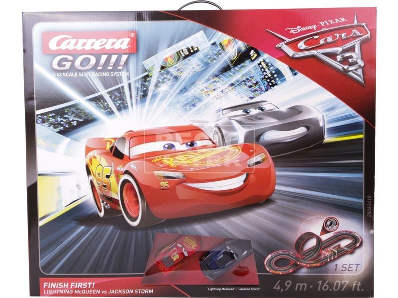 kép nagyítása Carrera GO Verdák 3 Finish First versenypálya