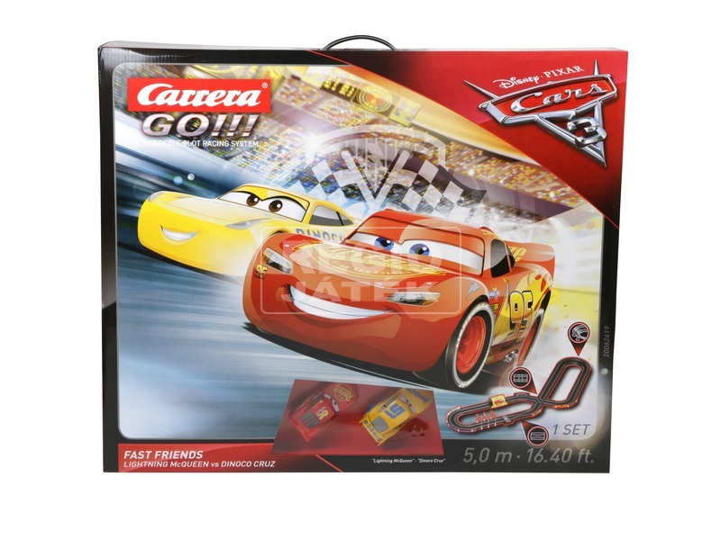 Carrera GO Verdák 3 Fast Friends versenypálya