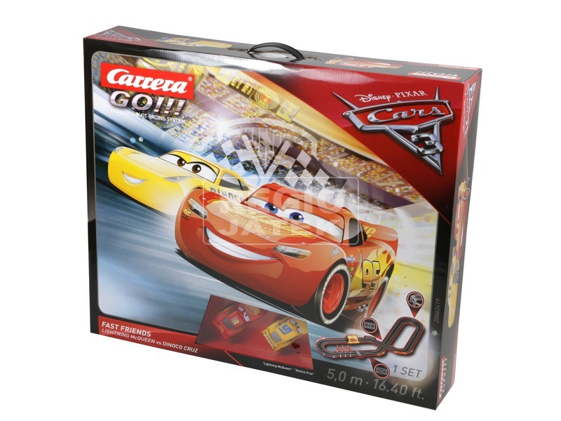 kép nagyítása Carrera GO Verdák 3 Fast Friends versenypálya