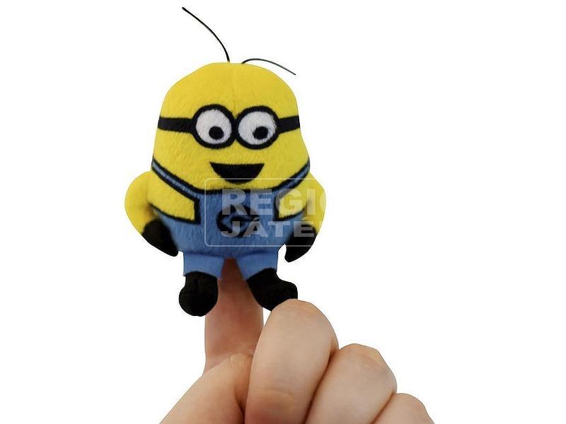 kép nagyítása Minion ujjbáb hanggal - 8 cm, többféle