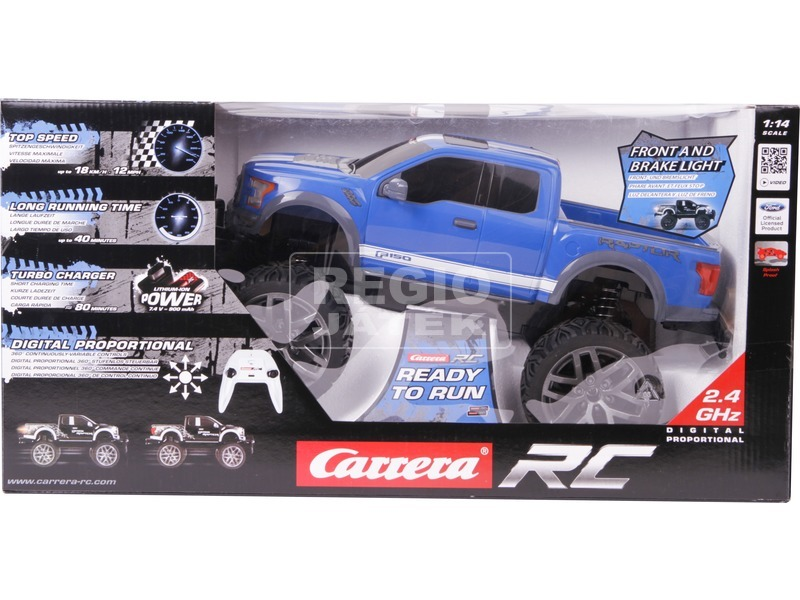 Carrera RC Ford F-150 Raptor, blue