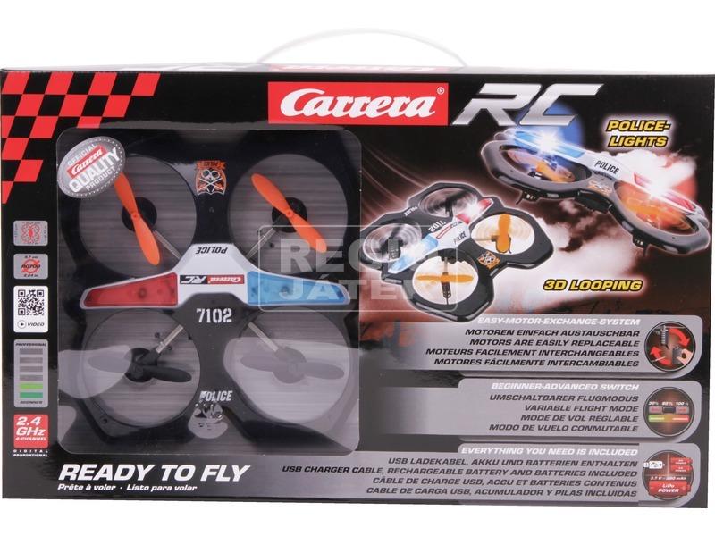 kép nagyítása Carrera RC Police távirányítós quadrocopter