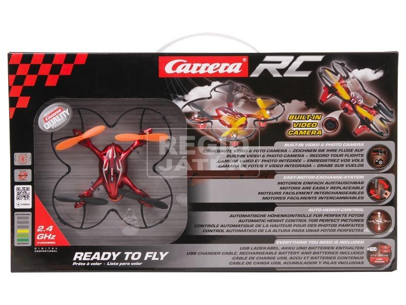kép nagyítása Carrera RC Video One távirányítós quadrocopter