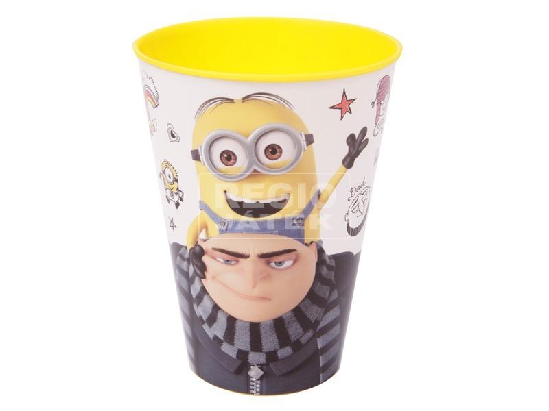 kép nagyítása Minion műanyag pohár - 430 ml