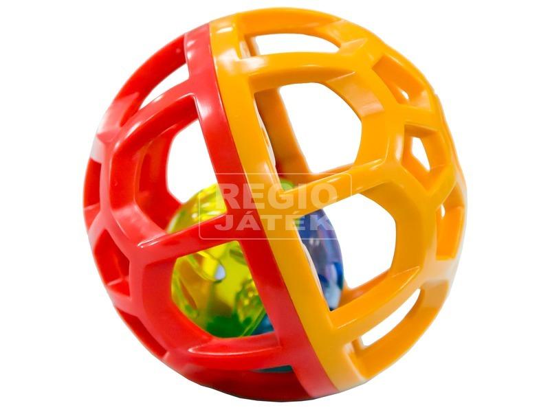 Csörgő bébi labda - többféle