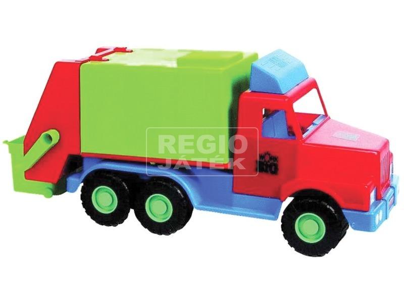 Műanyag kukásautó - 45 cm, többféle
