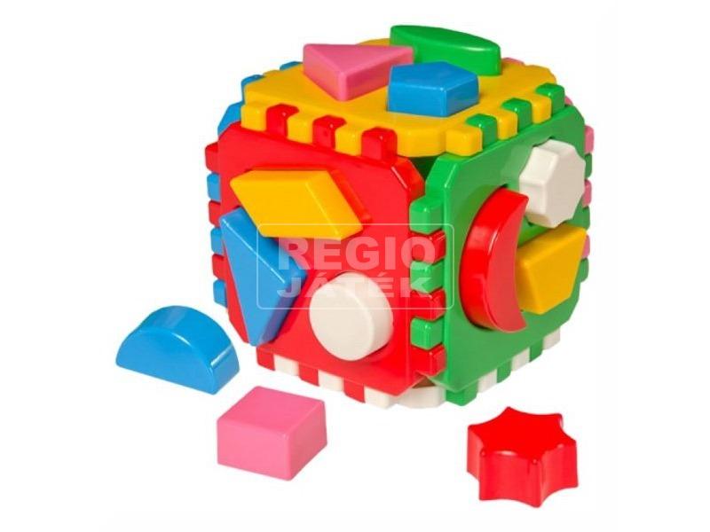 Logikai kocka formákkal