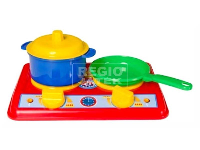 Mini konyha edényekkel