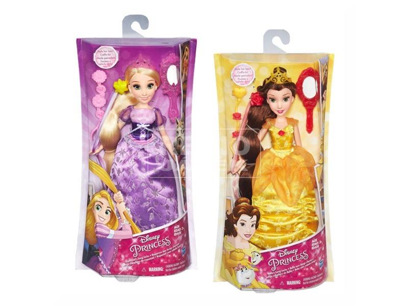 DISNEY Hercegnők hajformázó készlet