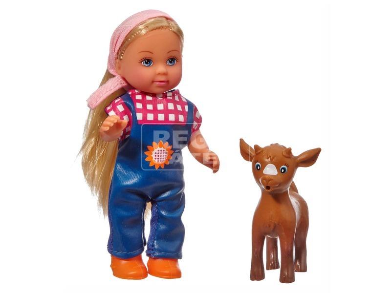 kép nagyítása Evi Love Baby animal farm baba - 11 cm, többféle