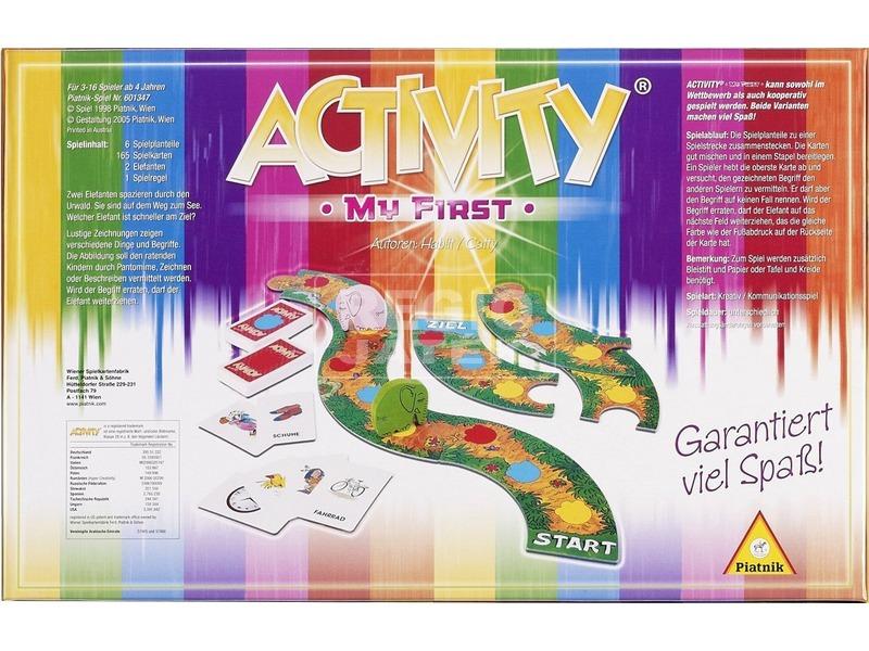 kép nagyítása Activity My First gyermek társasjáték