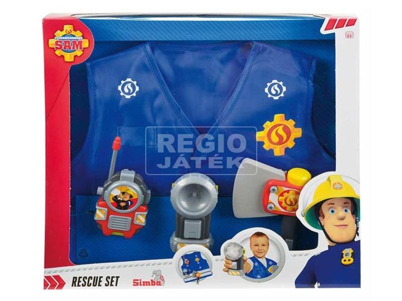 Sam a tűzoltó mellény kiegészítőkkel