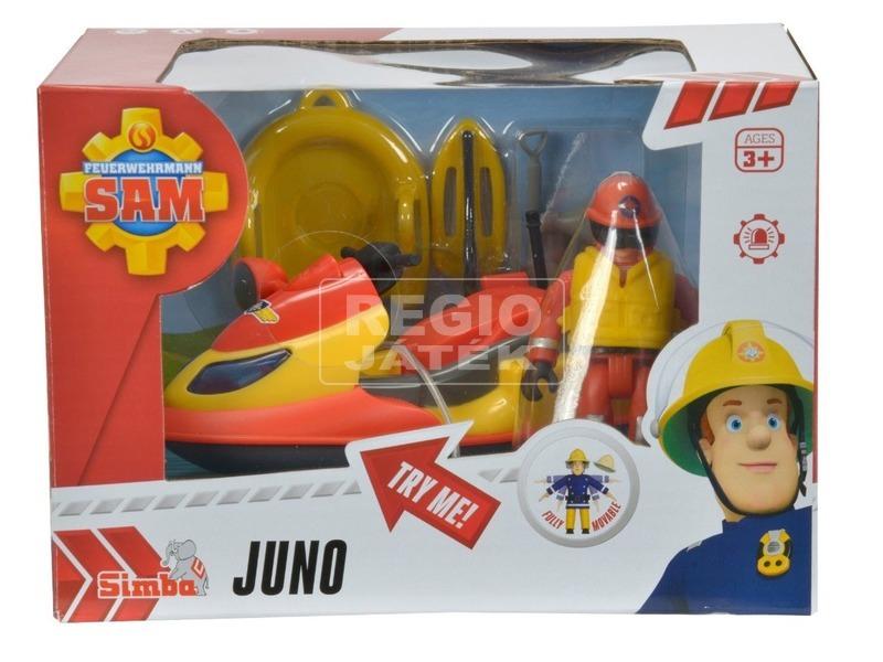Sam a tűzoltó Juno figurával - 12 cm