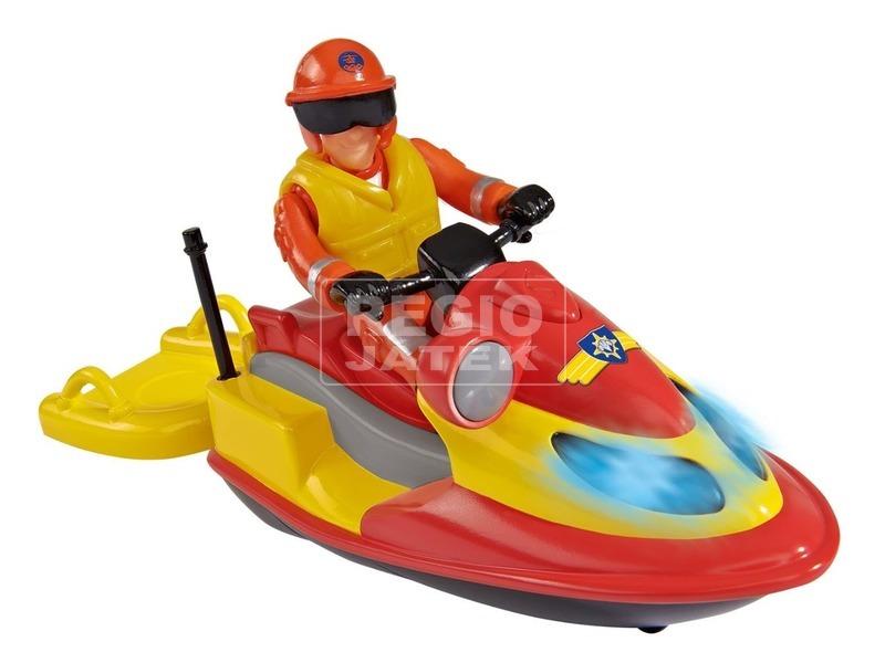 kép nagyítása Sam a tűzoltó Juno Ski figurával