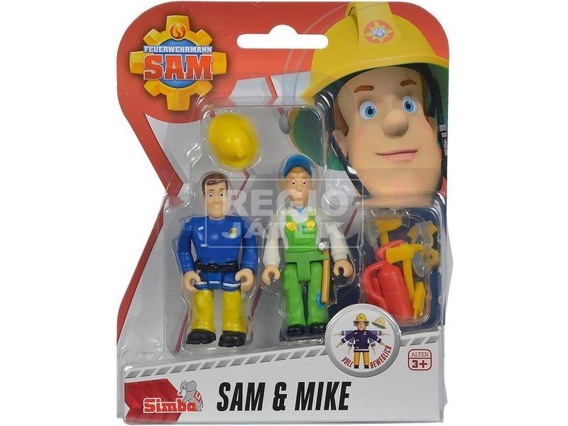 Sam a tűzoltó 2 figura, 4 féle