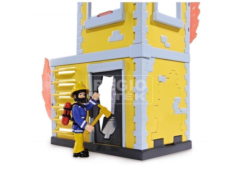 kép nagyítása Tűzoltó Sam gyakorló torony Sam figurával