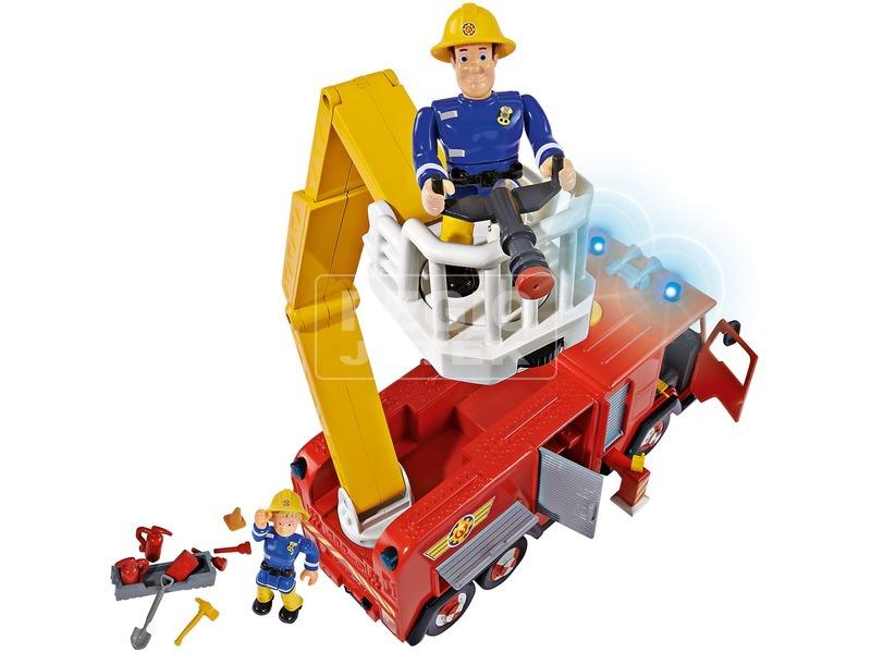 kép nagyítása Tűzoltó Sam Deluxe Jupiter tűzoltóautó figurákkal