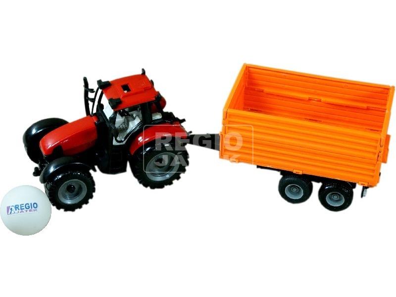 kép nagyítása Rönk- és tejszállító műanyag traktor