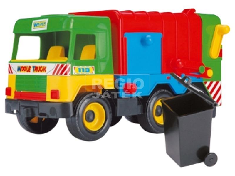 Wader Közép méretű vegyes teherautó 40cm