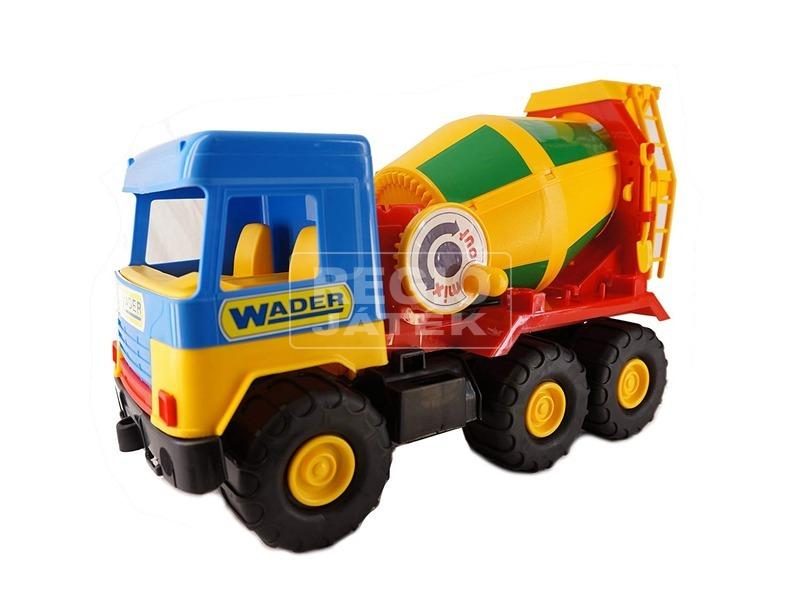 kép nagyítása Wader Middle Truck teherautó - 40 cm, többféle