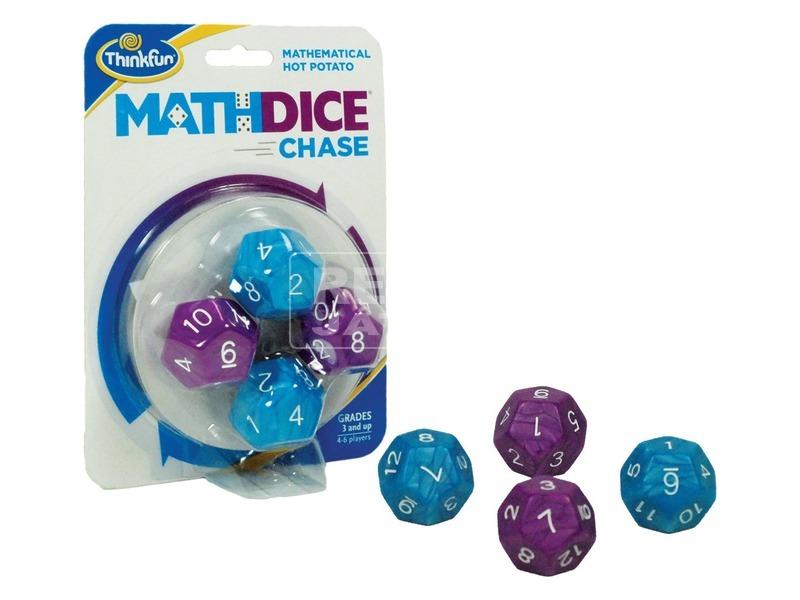 kép nagyítása Math Dice Chase matematikai kockajáték