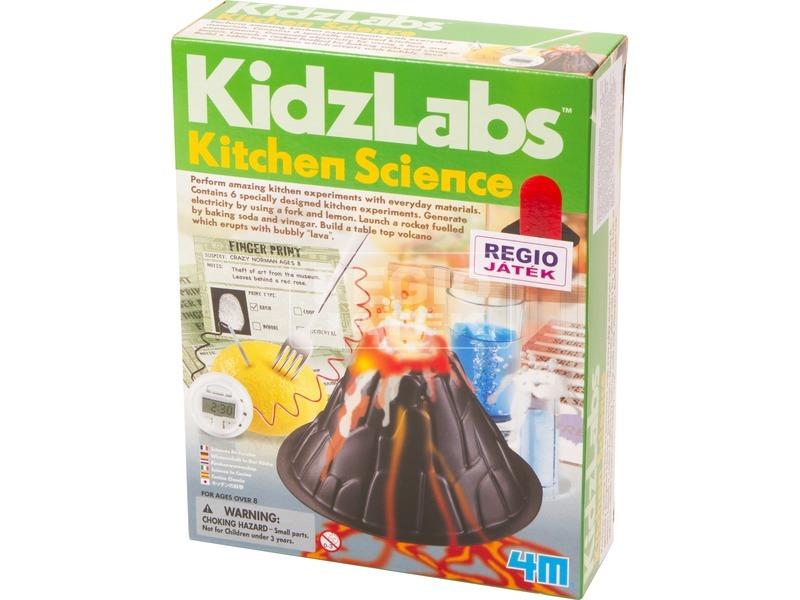 4M konyhai kísérlet tudományos készlet
