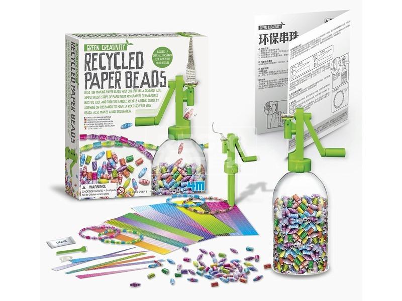 kép nagyítása 4M újrahasznosított papírgyöngy készlet