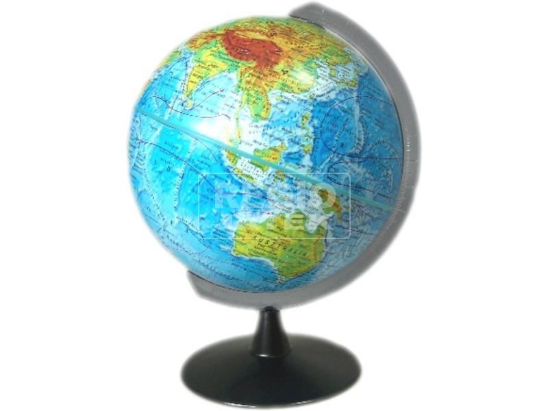 kép nagyítása Földgömb, domborzati vagy politikai színezéssel