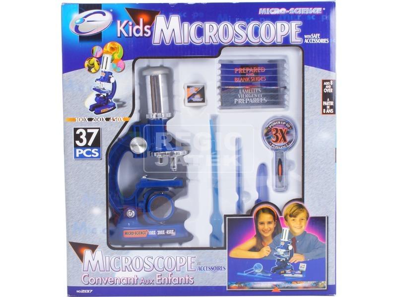 kép nagyítása Mikroszkóp készlet kiegészítőkkel