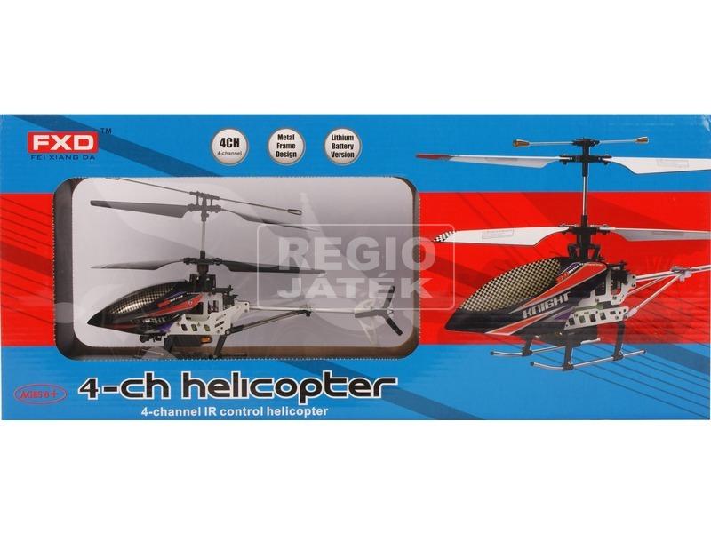 Távirányítós helikopter 4 csatornás