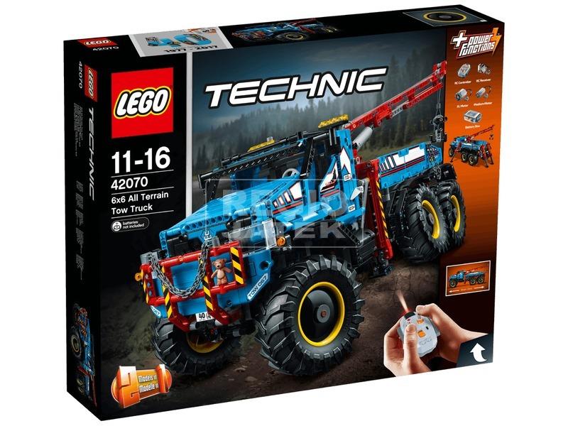 LEGO® Technic 6 x 6 terepjáró vontató 42070