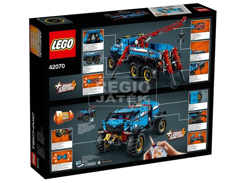 kép nagyítása LEGO® Technic 6 x 6 terepjáró vontató 42070