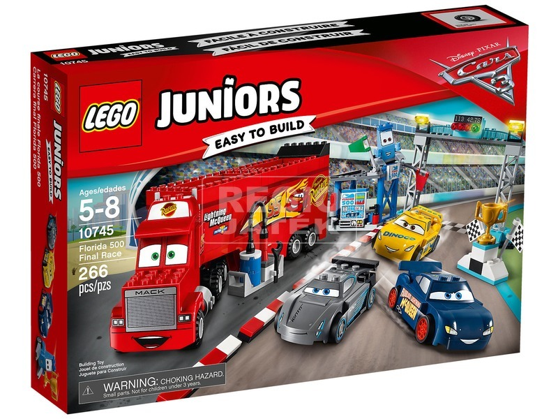 LEGO Juniors 10745 A Florida 500 döntő futam