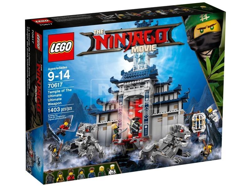 LEGO® Ninjago A legvégső fegyver temploma 70617