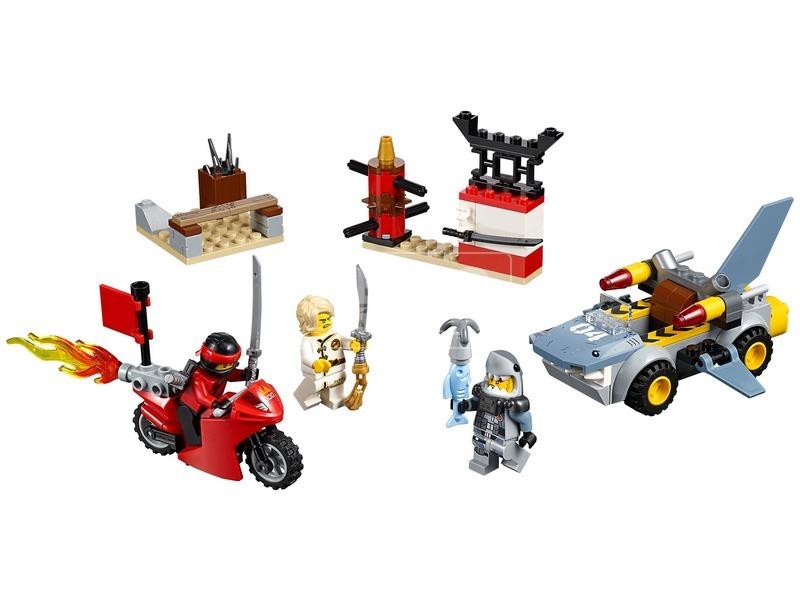 kép nagyítása LEGO® Juniors Cápatámadás 10739