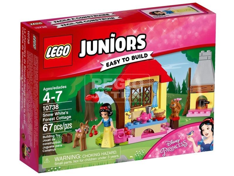 LEGO® Juniors Hófehérke házikója 10738