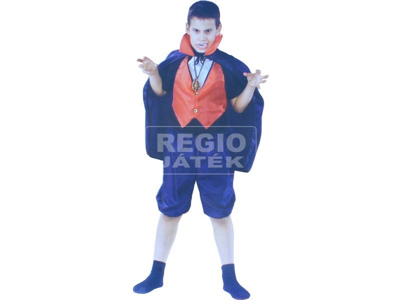 kép nagyítása Fiú-lány halloween jelmez - 110-146 méretek