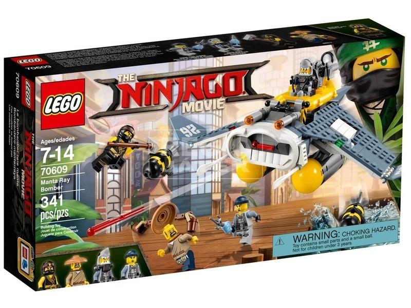 LEGO® Ninjago Manta Ray bombázó 70609