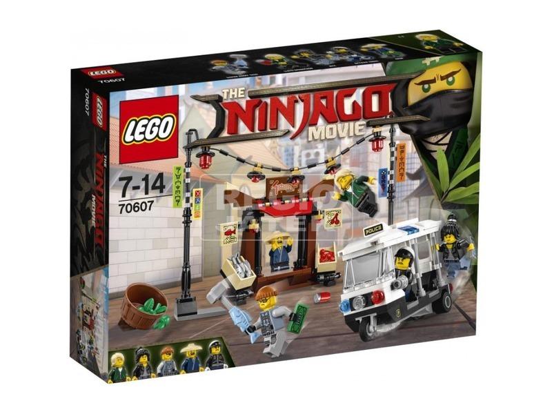 LEGO Ninjago 70607 NINJAGO City Üldözés