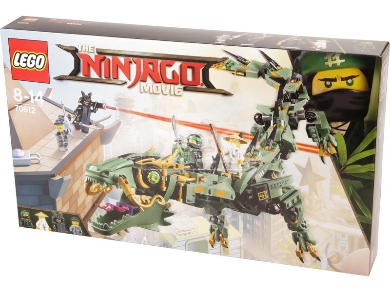 LEGO® Ninjago Zöld nindzsa mechanikus sárkány 70612