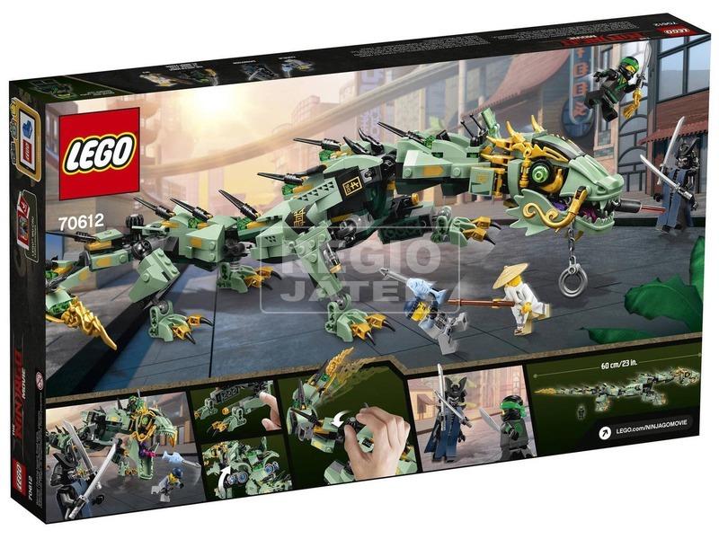 kép nagyítása LEGO® Ninjago Zöld nindzsa mechanikus sárkány 70612