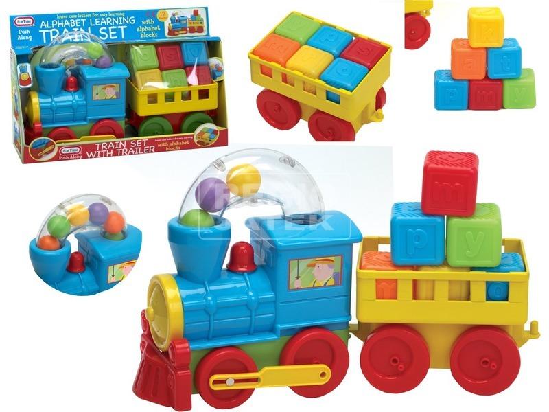 ABC golyós vonat bébijáték
