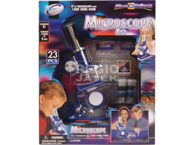 Mikroszkóp 23 darabos készlet