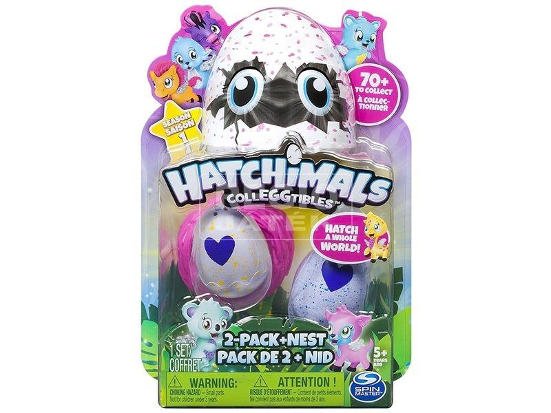 Hatchimals figura tojásban 2 darabos készlet