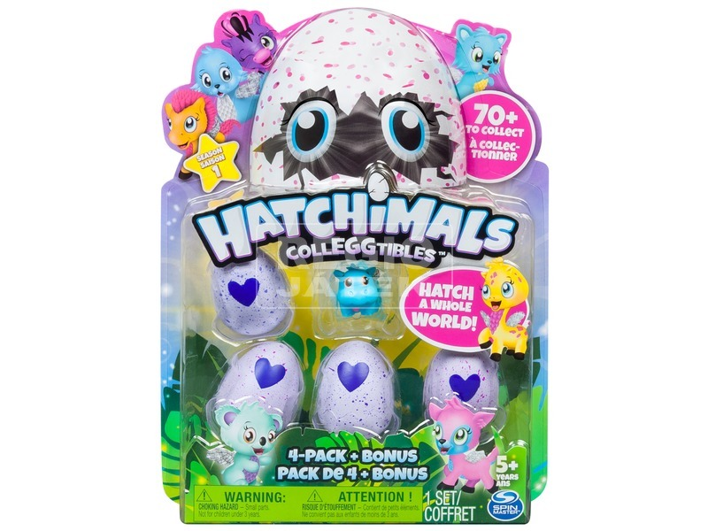 Hatchimals Gyűjth. Fig. Tojásban 4-es cs