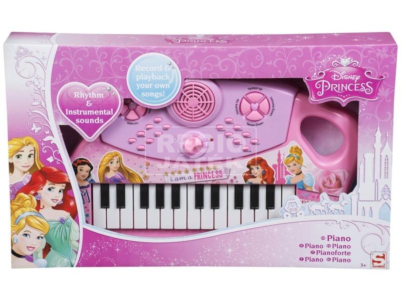 Disney hercegnők zongora
