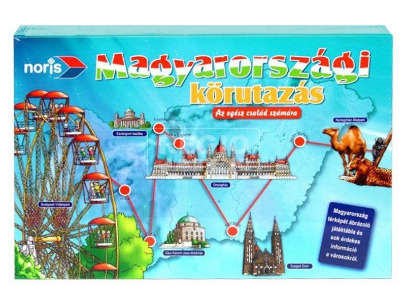 Magyarországi körutazás társasjáték